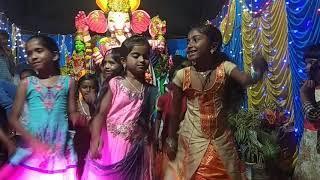 Small girls dance for ganpathi