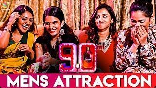 What Attracts Men To Women ? : 90ML Girls Reveals | Team Interview | Oviya