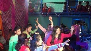 Himachali Girls Dance On Pahadi Dhol Nagada Beat At Himachal