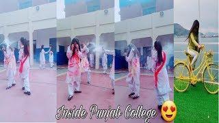 Inside Punjab College Boys Girls TikTok Musically Video Part 34| TikTok Pakistan HD