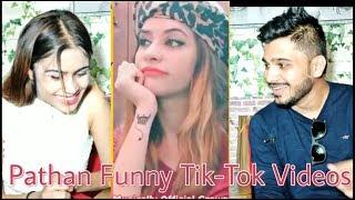 INDIAN Reaction On Funny Pathan Dialogues | Pathan Girls #TikTok Videos