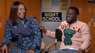 Tiffany Haddish Feels Sorry For The Women Who Have To Kiss Kevin Hart (Night School)
