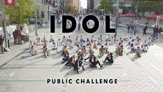 [KPOP FLASHMOB IN PUBLIC MONTREAL] BTS (방탄소년단) - IDOL | Dance Cover by 2KSQUAD [GIRL VER.]