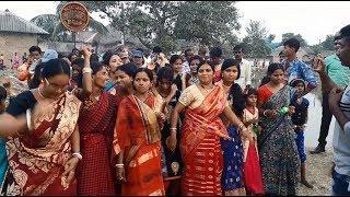 কাগ্রামের জগদ্ধাত্রী পূজার দূপুরে মেয়েদের নাচ দেখুন 2018 , girls dance, ladies dance jagadhatri puja