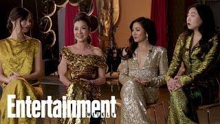 The Women Of 'Crazy Rich Asians' On What They Love About Their Characters | Entertainment Weekly