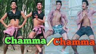 Dance ऐसा की girls भी शर्मा जायें | chamma chamma dance | tik tok musically