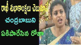 MLA Roja takes on Chandrababu over attacks on Women and No action on TDP Leaders |Cinema Politics