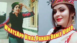 New WhatsApp Viral Pahadi Dance Video by Himachali Girls।।Shimla Nati, Pahadi songs, Himachali
