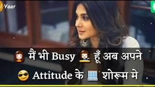 Jennifer winget ||Attitude whatsapp status video for girls || New Latest Whatsapp Status Video
