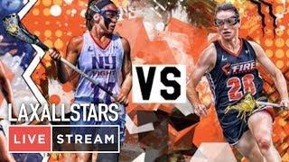 New York Fight vs Philadelphia Fire : Women's Pro Lacrosse