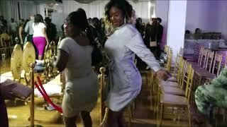 GIRLS DANCE AFTER FASHION SHOW.  SEE FOR YOURSELF!