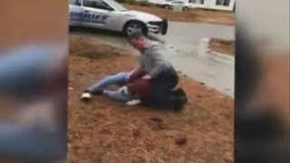 North Carolina Police Officer tackles 2 Teen Girls to Ground over Video Recording | North Carolina