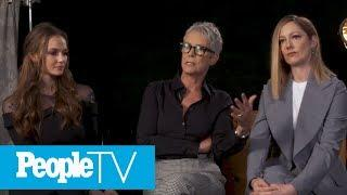 Jamie Lee Curtis On Three Generations Of 'Halloween' Women | TIFF 2018 | PeopleTV