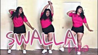 FAT GIRL DANCE'S TO 'SWALLA BLACKPINK'S LISA' DANCE COVER PH