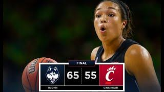 UConn Women's Basketball Highlights v. Cincinnati 02/02/2019