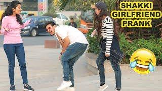 EPIC -  GIRLFRIEND HITTING BOYFRIEND IN FRONT OF CUTE GIRLS PRANK!!