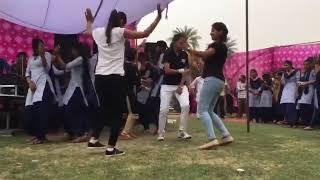 Girls dance in GOVT. School function