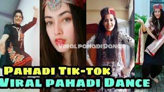 New Tik-tok Viral Pahadi Nati Dance Videos By Girls,Shimla-Sirmouri nati,Pahadi Songs,Himalayan folk