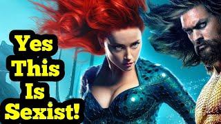 NPC mad Aquaman was marketed differently for women