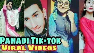 Viral Pahadi Tik-tok Videos, Pahadi nati Dance videos by girls and boys, Himachali songs,  Pahadi