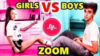 ZOOM DANCE MUSICAL.LY CHALLENGE ????????????|| BOYS VS. GIRLS