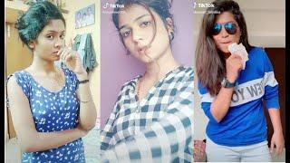 tik tok tamil dubsmash girls video // cute tamil girl || on tik tok || musically#18