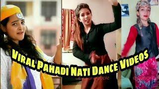 WhatsApp Viral Pahadi Nati Dance Videos by Girls, Pahadi Songs, Shimla Nati, Pahadi Culture