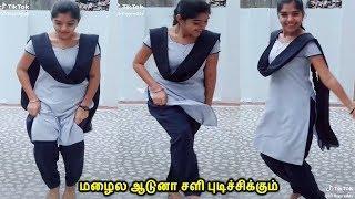 ஸ்கூல் படிக்கிற பொண்ணு ஆடுற ஆட்டமா இது செம்ம குத்து tamil girls dance