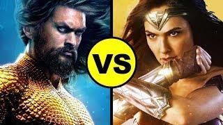 AQUAMAN vs Wonder Woman