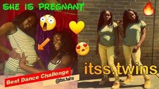 Pregnant Girl Can Dance with her twins sister ● Itss.twins ~ Best Dance Compilation