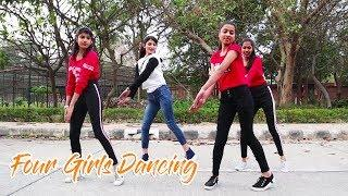 Four Girls Dancing - Be Free and Creative | Mobile Phone Addiction | Addiction of Social Media