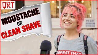 Guys With MOUSTACHE or Clean SHAVE? | Delhi Girls About Boys | Boys Must WATCH | Quick Reaction Team