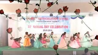 BEST MATRICULATION SCHOOL 2018-19 Annual Day 4th Girls Dance Performance 2