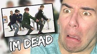 BTS dancing to girl group songs (reaction)