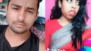 Tera ghata || funny musically video duet || viral girl ||