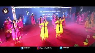St.Joseph's Mat.Hr.Sec.School (ANNUAL DAY -2018) ~10th girls dance  - Day 2