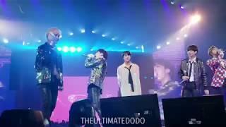 180905 21st Century Girl 21세기 소녀 Medley @ BTS 방탄소년단 Love Yourself Tour in LA Fancam 직캠