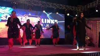 Suit Punjabi Dance Performance Sansar Dj Links Phagwara Punjabi Girls Dance Performance
