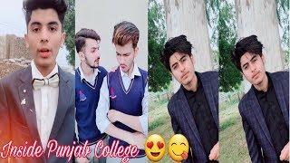 Inside Punjab College Boys Girls TikTok Musically Video Part 39| TikTok Pakistan HD