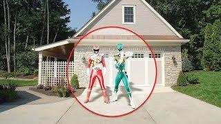 5 REAL POWER RANGERS CAUGHT ON CAMERA & SPOTTED IN REAL LIFE!
