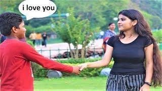 KID PROPOSING CUTE GIRL'S PRANK  | I LOVE YOU PRANK | INDIA |PART-3 | Vishal Sonar |