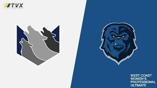 San Diego Wolfpack vs. Seattle Cascades - West Coast Women's Professional Ultimate