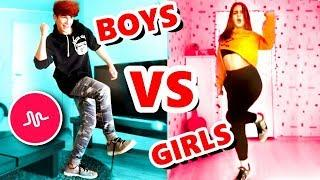 PICK IT UP MUSICAL.LY DANCE CHALLENGE || BOYS VS GIRLS! ????????????