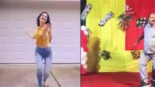 funny Uncle Dance Remix with Girls dance | Govinda-Style Watch | and Subscribe.