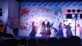 ROCKING GIRLS DANCE FRESHERS DAY 2K19 COH BAGALKOT