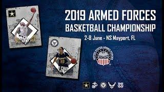 2019 Armed Forces Women's Basketball - Army vs USAF
