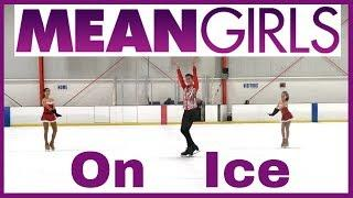 MEAN GIRLS JINGLE BELL ROCK DANCE ON ICE | Coach Michelle Hong