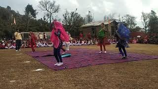 School Girls Dance Himachali |Dogri |Song in Sheetal Nagar Basholi