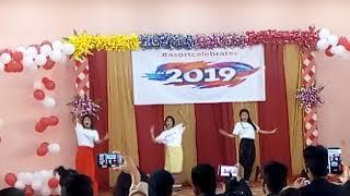 #ASORT Northeast girls dance New year celebration 2019