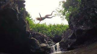 Last Waterfall Video Of 3 Canada YouTube Stars High on Life Group: Girl & Boys Who Fell Into Abyss
